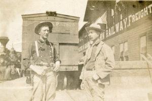 railroad development, train depot, new meadows, Idaho