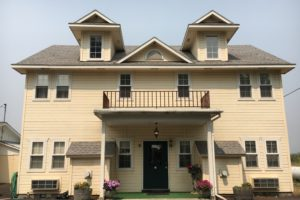 Carriage house, balcony, suites